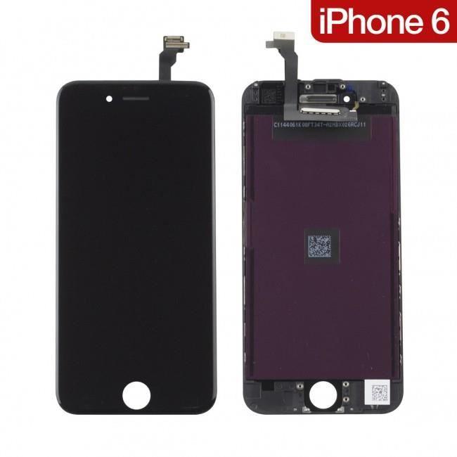 cran lcd complet pour iphone 6 4 7 noir achat ecran de t l phone pas cher avis et meilleur. Black Bedroom Furniture Sets. Home Design Ideas