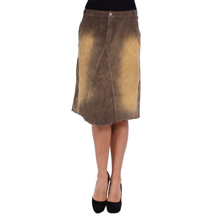 desigual jupe femme kaki achat vente jupe kilt. Black Bedroom Furniture Sets. Home Design Ideas