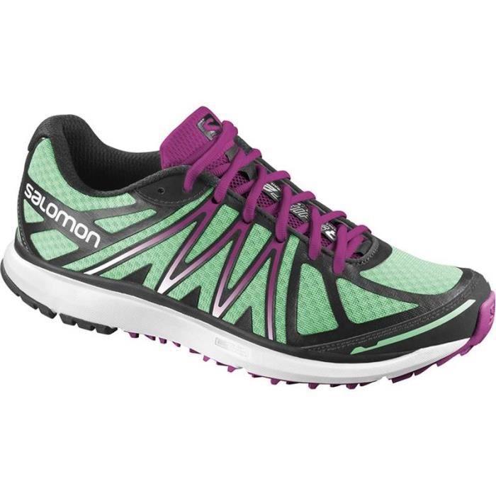salomon chaussures trail femmes x tour w vert violet 2014 une chaussure de citytrail. Black Bedroom Furniture Sets. Home Design Ideas
