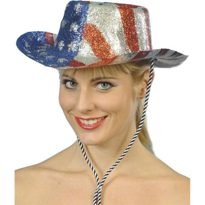 Chapeau Cowboy USA Achat / Vente chapeau perruque Chapeau Cowboy