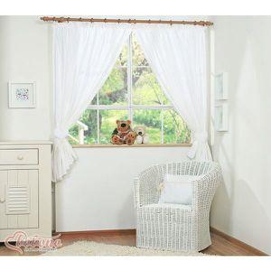 embrasse rideaux coeur achat vente embrasse rideaux coeur pas cher cdiscount. Black Bedroom Furniture Sets. Home Design Ideas