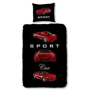 parure de lit sport achat vente parure de lit sport pas cher cdiscount. Black Bedroom Furniture Sets. Home Design Ideas