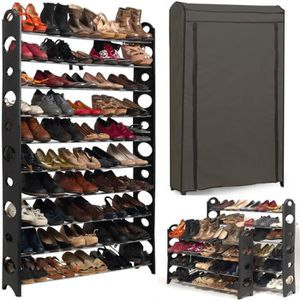 etagere chaussure extensible achat vente etagere. Black Bedroom Furniture Sets. Home Design Ideas