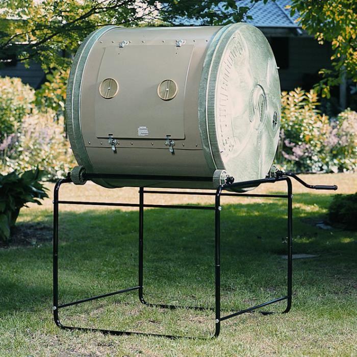 Composteur de jardin rotatif 635 litres composteur - Composteur de jardin ...