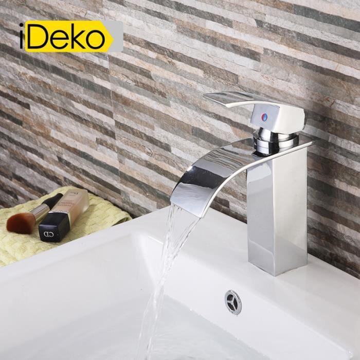 robinet lavabo achat vente robinet lavabo pas cher les soldes sur cdiscount cdiscount. Black Bedroom Furniture Sets. Home Design Ideas