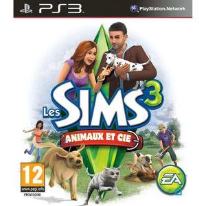 JEU PS3 LES SIMS 3 ANIMAUX ET COMPAGNIE / Jeu PS3