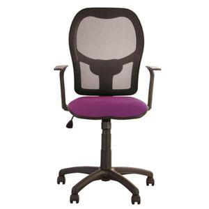 Fauteuil de bureau couleur violet achat vente fauteuil for Chaise d ordinateur