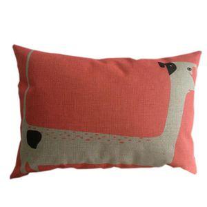 Coussin avec oreiller pour chien achat vente coussin for Taie d oreiller pour canape