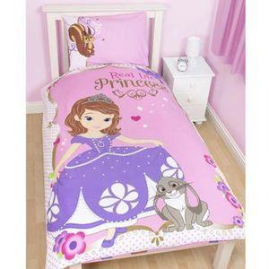 housse de couette princesse sofia achat vente housse de couette princesse sofia pas cher. Black Bedroom Furniture Sets. Home Design Ideas
