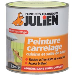 Peinture carrelage achat vente peinture carrelage pas cher cdiscount for Peinture carrelage julien