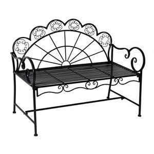 banc de jardin aluminium achat vente banc de jardin aluminium pas cher les soldes sur. Black Bedroom Furniture Sets. Home Design Ideas