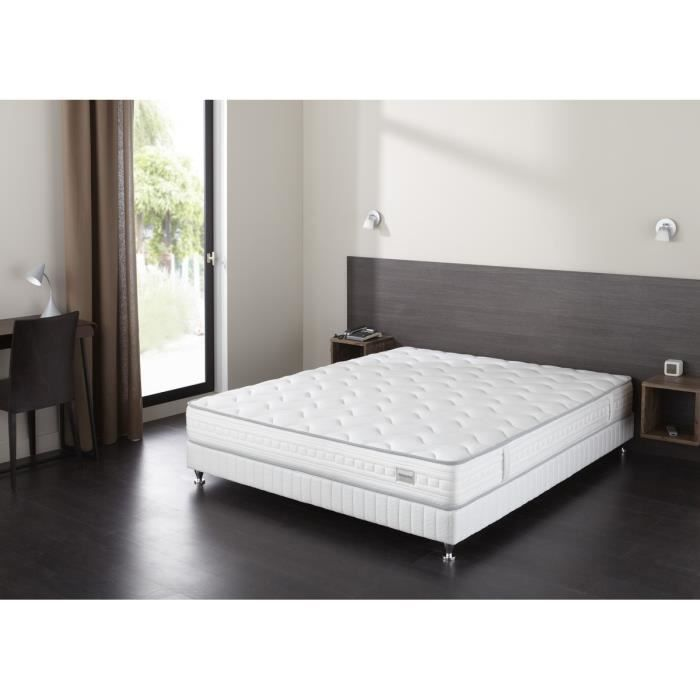 simmons ensemble matelas sommier lobby 90x190 cm. Black Bedroom Furniture Sets. Home Design Ideas