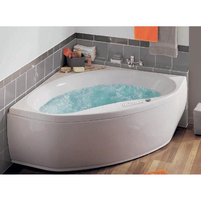 Nalia baln o pr f rence 145 x 145 cm avec tablier achat vente baignoi - Avis sur baignoire balneo ...