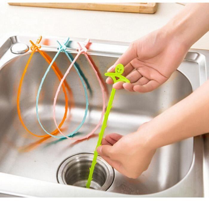 20 pouces nettoyant de drain de drain de cheveux nettoyant. Black Bedroom Furniture Sets. Home Design Ideas