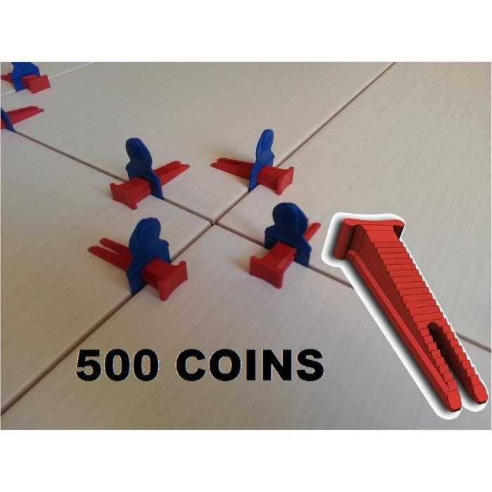 Croisillons auto nivelant carrelage 500 coins achat for Pince coupe carrelage