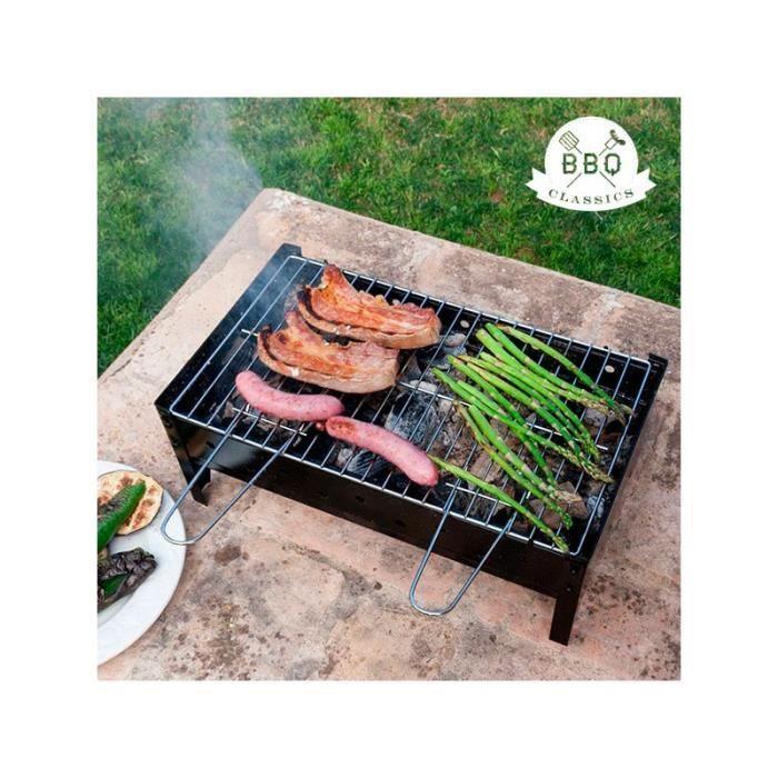 barbecue charbon de table bbq classics achat vente barbecue barbecue charbon de. Black Bedroom Furniture Sets. Home Design Ideas
