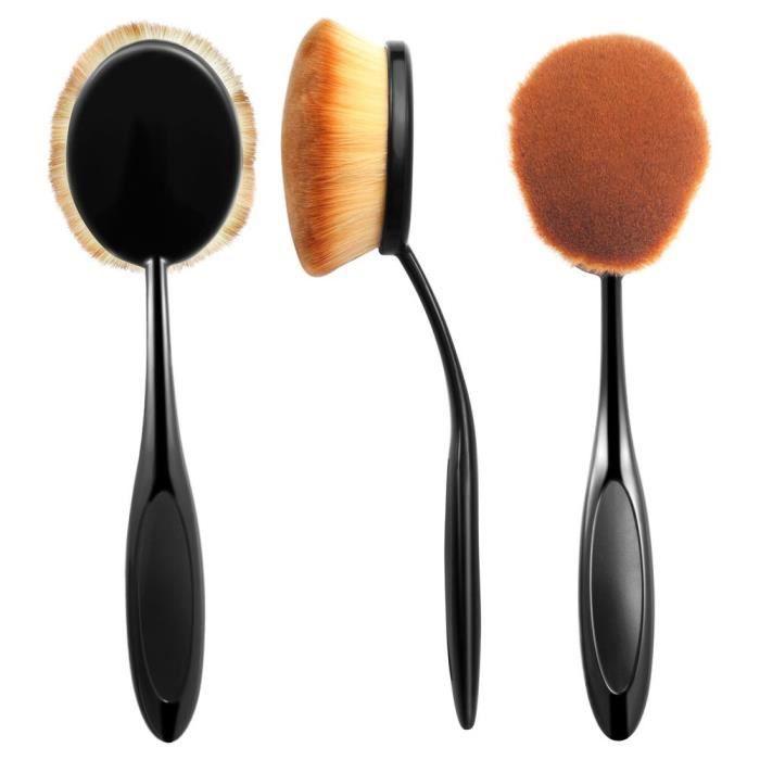 zodaca 1 pinceau brosse de maquillage applicateur cosm tique professionnel make up pour fond de. Black Bedroom Furniture Sets. Home Design Ideas