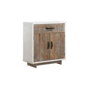 Blanc patine meuble achat vente blanc patine meuble for Petit meuble de rangement tiroir