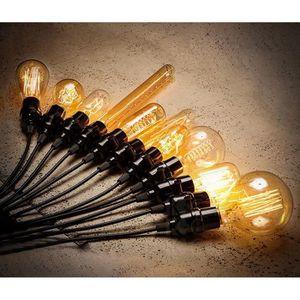 suspension ampoule filament achat vente suspension ampoule filament pas cher cdiscount. Black Bedroom Furniture Sets. Home Design Ideas