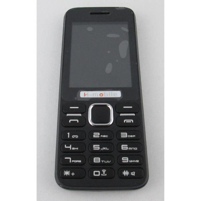 t l phone portable l5 h mobile noir achat t l phone portable pas cher avis et meilleur prix. Black Bedroom Furniture Sets. Home Design Ideas