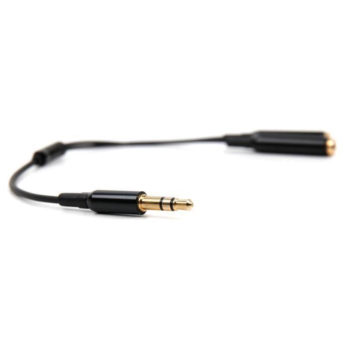 Découvrez ce répartiteur double audio DURAGADGET pour votre prise