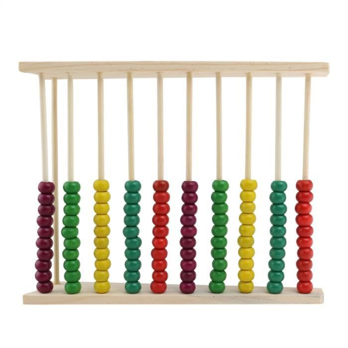 jouet ducatif en bois abacus pour enfants achat vente boulier soldes cdiscount. Black Bedroom Furniture Sets. Home Design Ideas