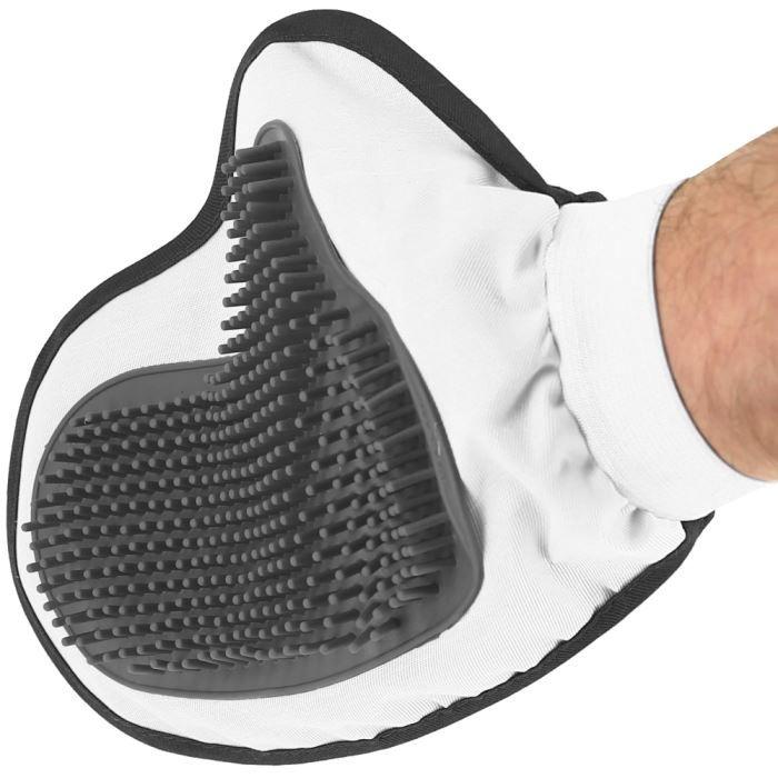 gant de massage animaux ramasse poils chien chat n achat vente brosse carde gant de. Black Bedroom Furniture Sets. Home Design Ideas