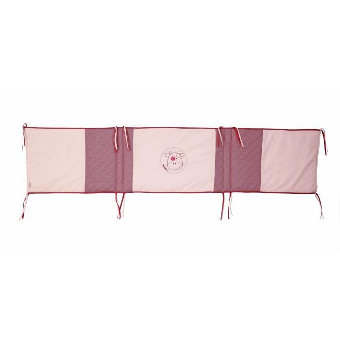 Entourage de lit rosy rose 40x180 cm achat vente tour de lit b b entoura - Entourage de lit adulte ...