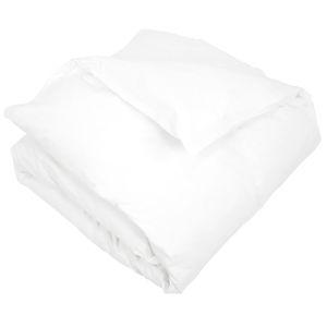Housse de couette coton percale 200x200 blanc achat - Housse de couette bonne qualite ...
