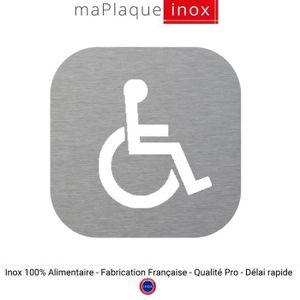 Pictogramme wc achat vente pictogramme wc pas cher for Porte wc handicape