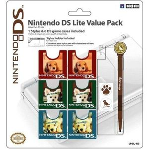 PACK ACCESSOIRE OFFICIALLY LICENSED DS LITE NINTENDOGS VALUE PA…