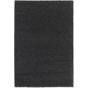 Tapis de salon achat vente tapis de salon pas cher cdiscount - Tapis shaggy noir brillant ...