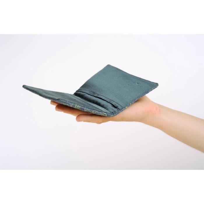 tui pour passeport en jean fait main housse pour document achat vente pack objet de deco. Black Bedroom Furniture Sets. Home Design Ideas