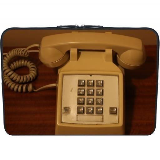 housse neoprene pc ordinateur portable 13 3 pouces t l phone vintage r tro prix pas cher. Black Bedroom Furniture Sets. Home Design Ideas