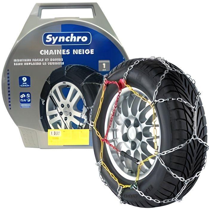 chaines neige 9mm pour pneu 14 15pouces synch achat vente chaine neige chaines neige 9mm. Black Bedroom Furniture Sets. Home Design Ideas