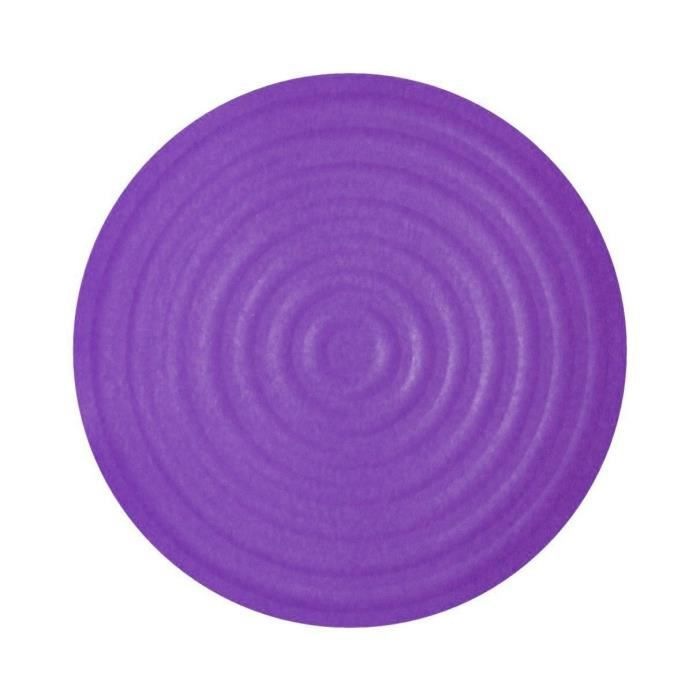 dessous de plat rond en silicone violet achat vente dessous de plat cdiscount. Black Bedroom Furniture Sets. Home Design Ideas