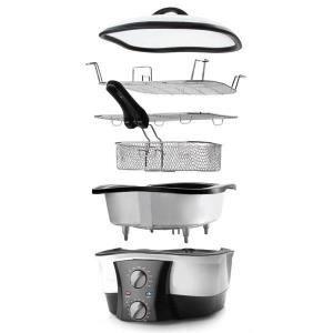 Speed chef multi cuiseur 8 en 1 achat vente for Appareil de cuisson 5 en 1