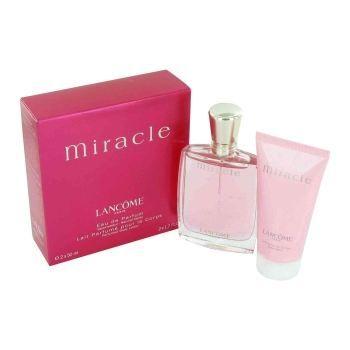 miracle de lancome parfum pour femme coffret 1 achat vente coffret cadeau parfum miracle. Black Bedroom Furniture Sets. Home Design Ideas