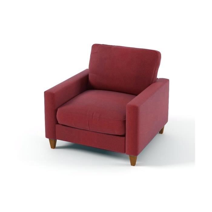 Fauteuil 1 place en tissu de qualit sweden achat vente fauteuil cdisc - Fauteuil stockholm occasion ...