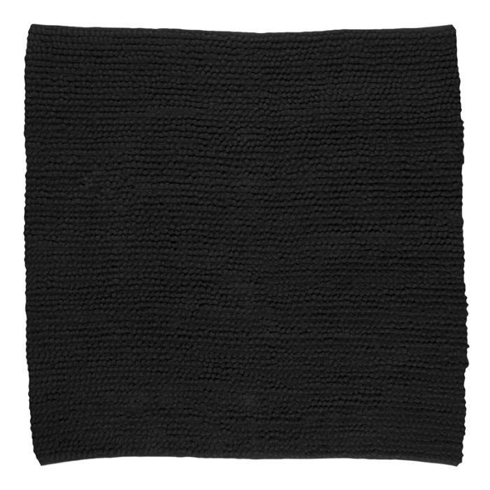 pelouse tapis 140x140 noir achat vente tapis cdiscount. Black Bedroom Furniture Sets. Home Design Ideas