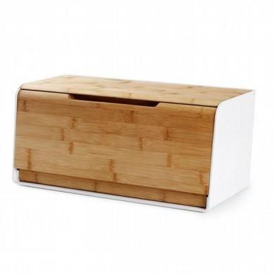 bo te pain avec planche d couper bambou achat vente boites de conservation bo te pain. Black Bedroom Furniture Sets. Home Design Ideas