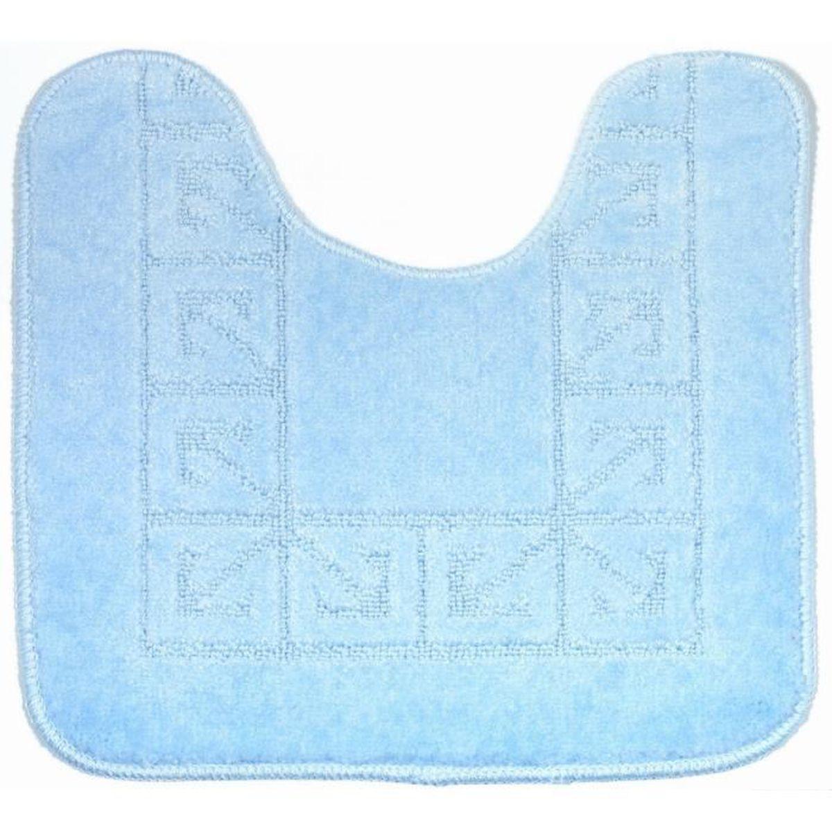 tapis de bain pacific contour wc bleu clair achat. Black Bedroom Furniture Sets. Home Design Ideas