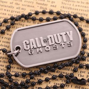 SAUTOIR ET COLLIER Call Of Duty Black Ghost Ops 3 Dog Tag Collier Log
