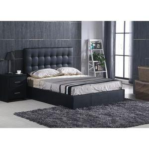 tete de lit de rangement 90 achat vente tete de lit de rangement 90 pas cher cdiscount. Black Bedroom Furniture Sets. Home Design Ideas