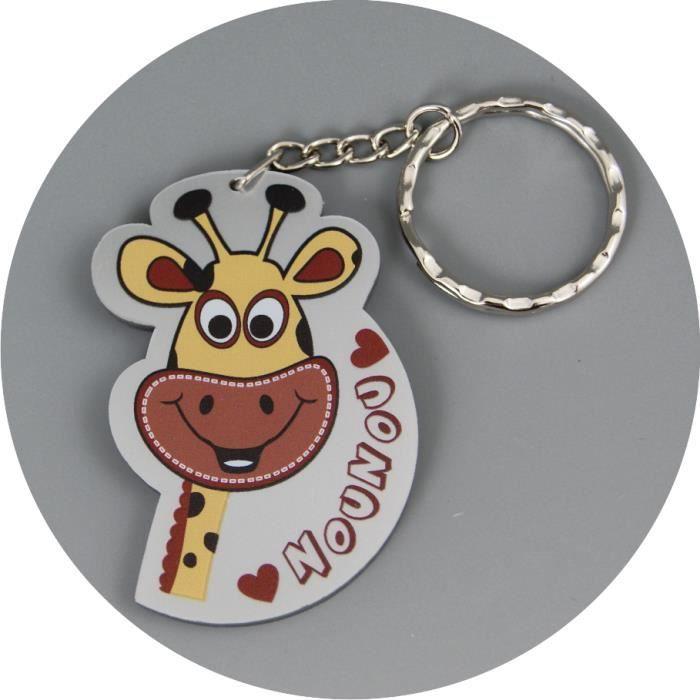 J 39 aime nounou porte clef cadeau pour la f te des - Cadeau nounou fin d annee ...