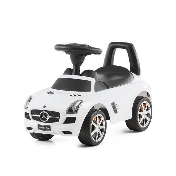 voiture porteur mercedes pour enfant blanche achat vente porteur pousseur cdiscount. Black Bedroom Furniture Sets. Home Design Ideas