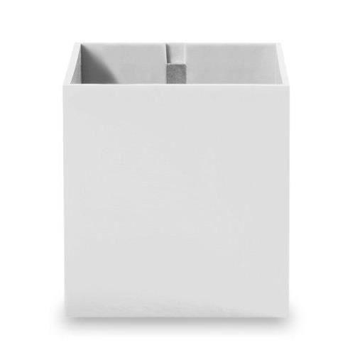 kalamitica pot en forme de cube aimant blanc 9 cm achat. Black Bedroom Furniture Sets. Home Design Ideas