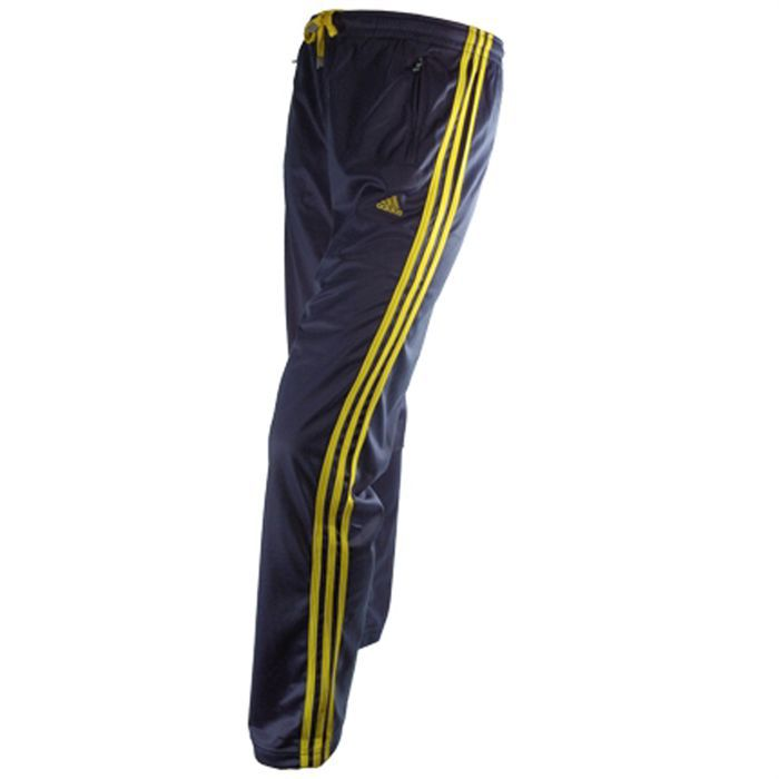 adidas pantalon de sport homme bleu achat vente. Black Bedroom Furniture Sets. Home Design Ideas