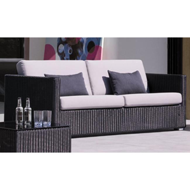 canap de jardin 3 places chester en r sine tre achat. Black Bedroom Furniture Sets. Home Design Ideas