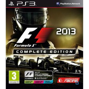 JEU PS3 F1 2013 COMPLETE EDITION (PS3)…
